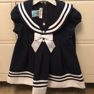 Other - Sweet little girls dress nautical